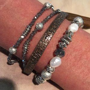 Jewelry - Good Works Bracelet- Joyful. Thankful. Blessed.